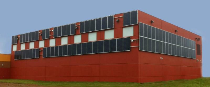 My Generation was contracted to install this 90 panel solar pv system at Membertou School, near Sydney Nova Scotia.